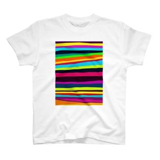 バキバキビビット T-shirts