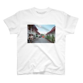 ちゃりんこおばさん T-shirts