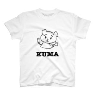 KUMAさん T-shirts