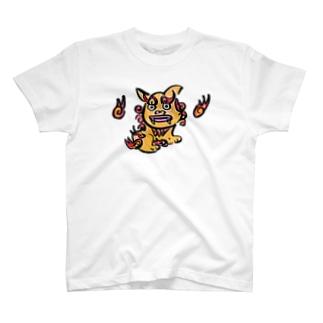 シーサー、沖縄、勝舟屋、かわいい T-shirts
