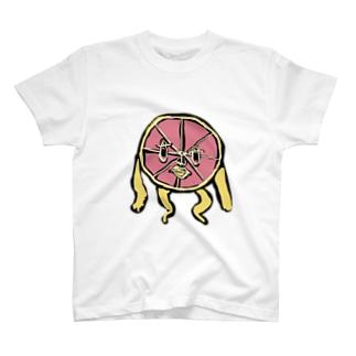 ピンクグレープフルーツ T-shirts