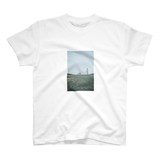 鹿観光客ティー T-shirts