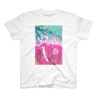 服部奈々子のもりのこえをきく T-shirts