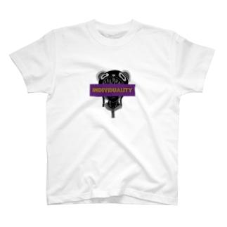 鐘真庵 SUZURI店のIndividuality T-shirts