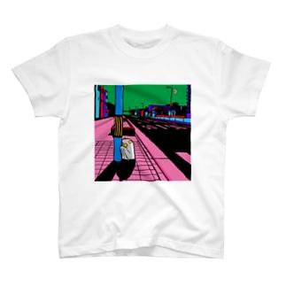 原田ちあきのもうどくと夜 T-shirts