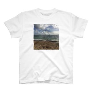 風景  南の島 T-shirts