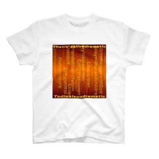 タイポ T-shirts