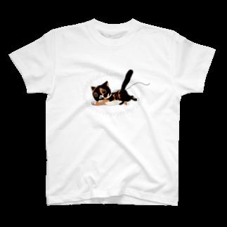 Marsh-mallowの迫真猫 T-shirts