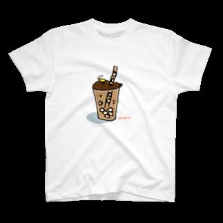 村上ユカのタピオカゆかこ T-shirts