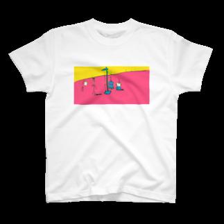 poyosumiのむだげちゃん身体測定 T-shirts