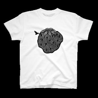 tokojiroのはちご T-shirts