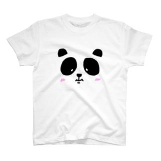 フェイスtheパンダ T-shirts