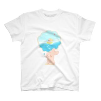 もうそうさぎ T-shirts