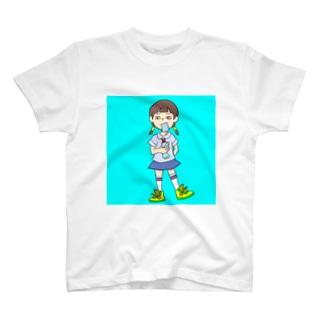 おんなのこ なつ T-shirts