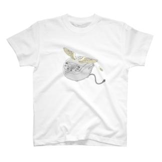 空飛ぶ炊飯器 T-shirts
