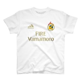 ファイヤー山本 マドリッド山本 T-shirts