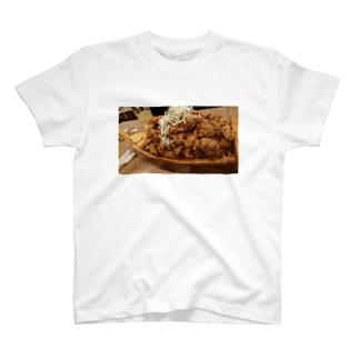 唐揚げ T-shirts