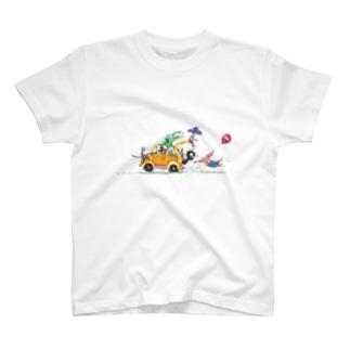 ワクワクドライブ! T-shirts
