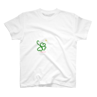 トリプルハート クローバー T-shirts