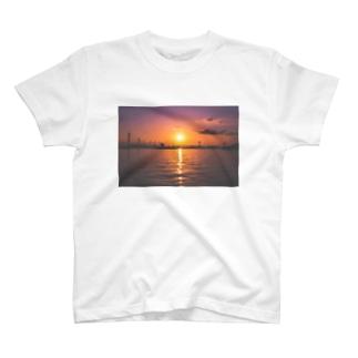 瀬戸内海と夕日シリーズ  T-shirts