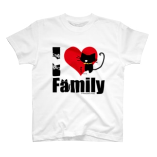 I LOVE Family T-shirts