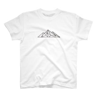 山ロゴT(WHITE) T-shirts