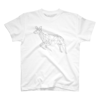 シカT(WHITE) T-shirts