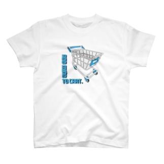 Shopping cart - MIND - Tシャツ
