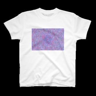 Miracke Happy Bareの万華鏡柄 T-shirts