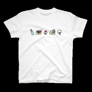 シャリのシャリの夏① T-shirts