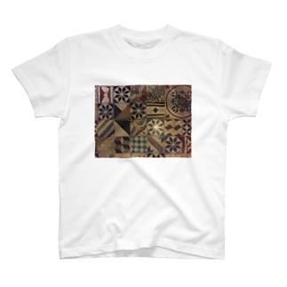 パレスチナタイル T-shirts