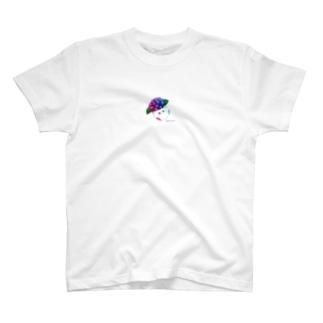 紫陽花とソルナ T-shirts