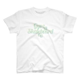 GYOZA SKATEBOARDS CO / LOGO DESIGN T-shirts
