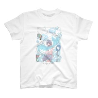 夏の匂いがした。 T-shirts