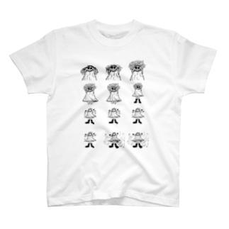 りんご神 T-shirts