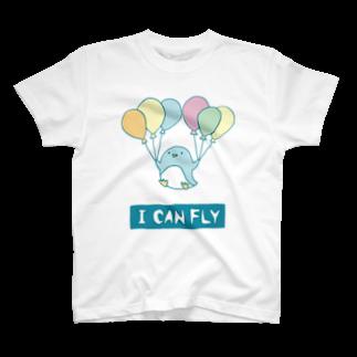 ぴーこっくのアイキャンフライ Tシャツ