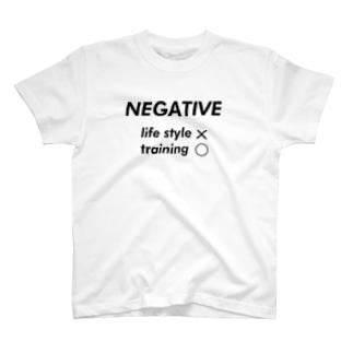 negative  T-shirts