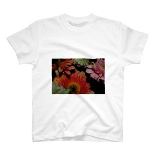 花#1 T-shirts
