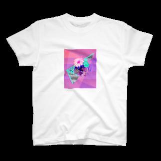 イロナモノ〜ミヤユリ〜のbeat part2(デザインプリントミニ版) T-shirts
