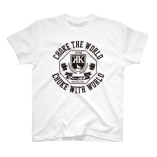 CHOKE THE WORLD, CHOKE WITH WORLD T-shirts