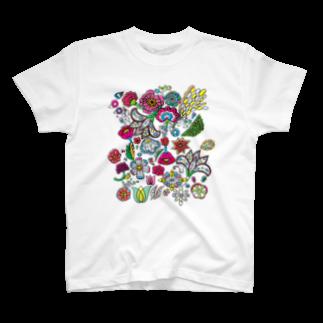 tatai タタイのパラダイスなTシャツ T-shirts