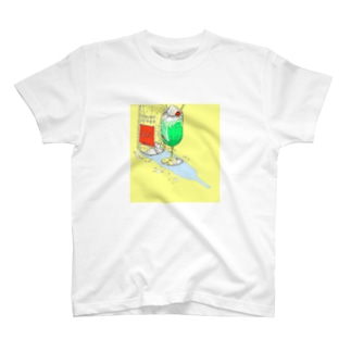 真夏のメロンサイダー T-shirts