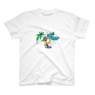 stargazer bird T-shirts