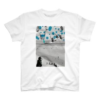 飛び立て!水蒸気! T-shirts