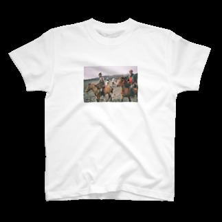 RoyjourneyのIkatsui Uma T-Shirt T-shirts