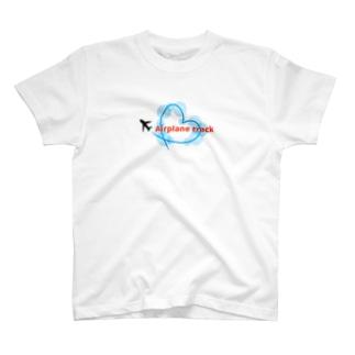 ハートのひこうき雲 T-shirts