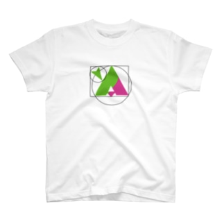 YASUのyA(緑&マゼンタ) T-shirts
