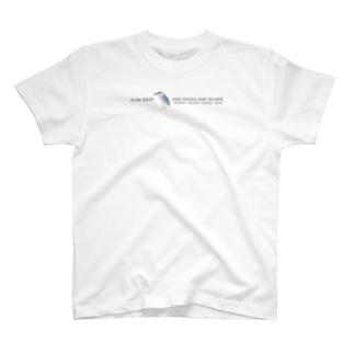しまのなかまSLOW ゴイサギ T-shirts