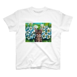 Plumerian Surprise T-shirts
