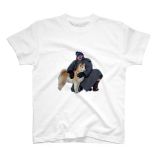 お相撲さんとその犬 T-shirts